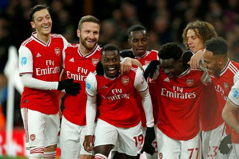 Le formazioni ufficiali di Arsenal-Liverpool. AFP