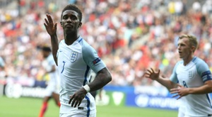 Demarai Gray is one of the stars of Aidy Boothroyd's U21 squad. AFP