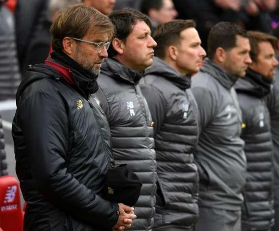 Klopp leads Liverpool tributes to Hillsborough families. AFP