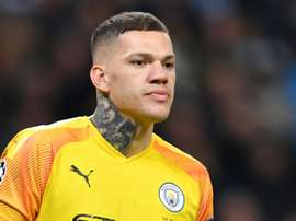 Ederson will not be fit for Man City's big clash with Liverpool. AFP