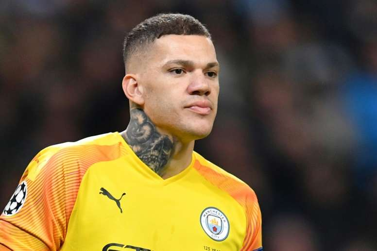 Ederson has called for concussion substitutes to be introduced into football. AFP