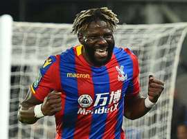 Bakary Sako left Crystal Palace last season. AFP