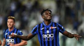 Zapata será baja ante la Lazio. AFP