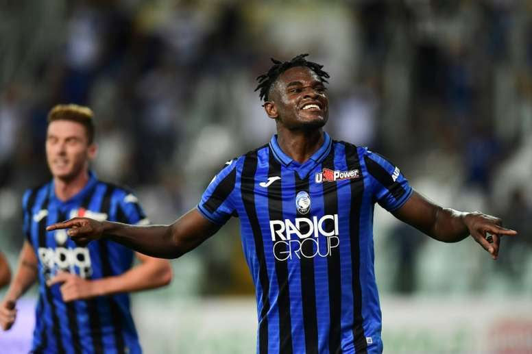 OFFICIEL : L'Atalanta lève l'option d'achat de Zapata. AFP