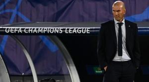 Zidane en danger, le match face au Barça et 'Gladbach déterminants. AFP