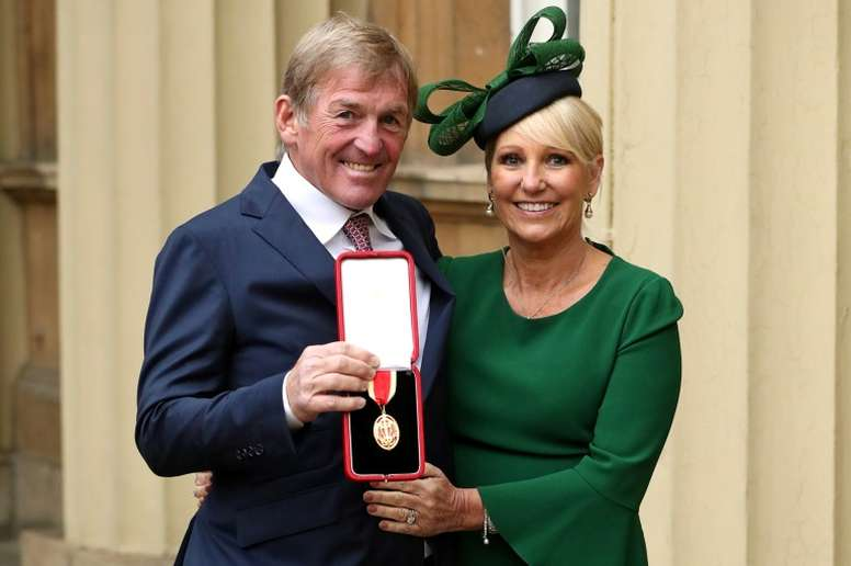 Kenny Dalglish has received tons of support after being tested positive for COVID-19. AFP