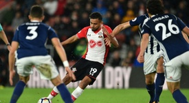 Boufal's goal against West Brom was an absolute beauty. AFP