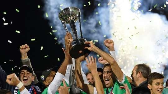 Raúl conquistó la NASL en su último partido como jugador profesional. AFP