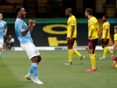 Manchester City won 4-0. AFP