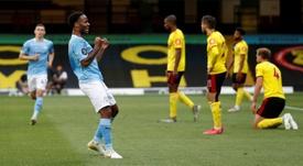 Sterling dépasse Cristiano Ronaldo en Premier League. afp