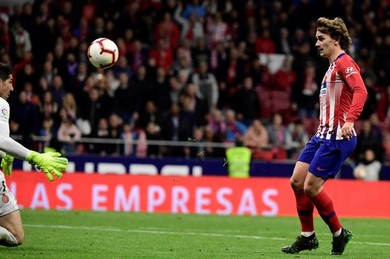 'RMC' says PSG are not interested in signing Griezmann. AFP