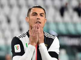 Losing two finals in a row is a new situation for Cristiano. AFP/Archivo