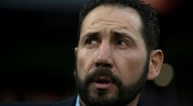 Pablo Machin is taking over at Espanyol. AFP
