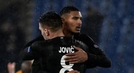 El Eintracht subasta a Jovic y se 'olvida' del Barça. AFP