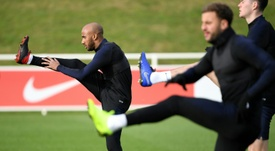 Manchester City's Fabian Delph will wear the England armband on Thursday. AFP