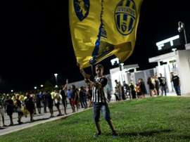 Fans will be allowed at Serie A matches from this Sunday. AFP