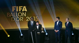 Kaká eligió al argentino por encima del luso. AFP