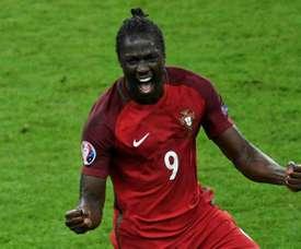 Portugal's Eder has been loaned to Lokomotiv Moskow. AFP