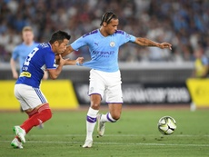 Bayern Munich are close to completing the signing of Man City's Leroy Sane. AFP