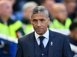 Chris Hughton has expressed disappointment at his surprise dismissal from Brighton. AFP