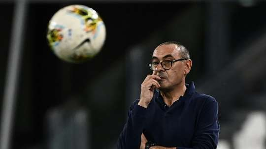 Maurizio Sarri does not think he could be sacked if Juventus get knocked out by Lyon. AFP