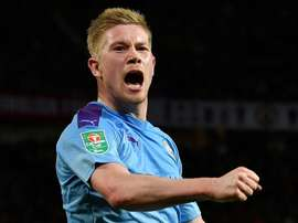 De Bruyne could leave City. AFP