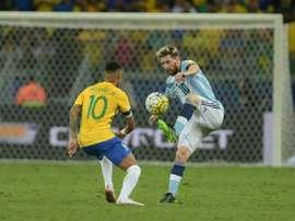 Messi es el gran ausente de la cita. AFP