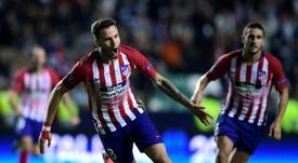 Saúl s'est rappelé de Torres et Gabi. AFP