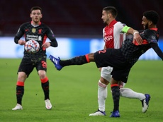 Liverpool managed without Virgil van Dijk as they beat Ajax 0-1. AFP