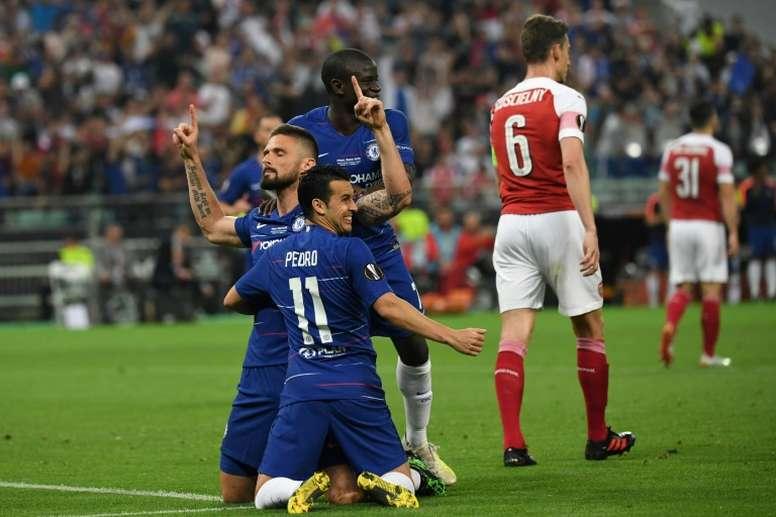 El Inter quiere ser el primero en convencer a Giroud. AFP