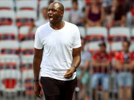 Vieira bemoans bad luck after defeat in first Nice game. AFP