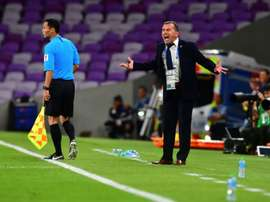 Radulovics was furious with officials after his side's defeat. AFP