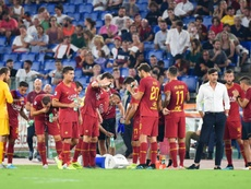 Roma president James Pallotta blasted the refereeing as his side were denied a late winner. AFP