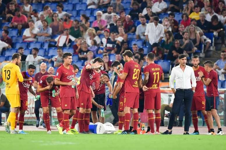 La Roma se disculpó con Ronaldo Vieira por los gritos racistas. AFP