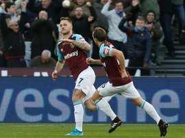 Austrian Arnautovic may decide to leave West Ham if it secures him European football. AFP