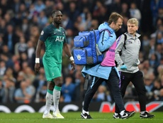 Moussa Sissoko is unlikely to be available for Tottenham's clash with Ajax. AFP