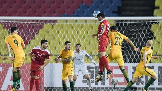 Syria were fortunate to grab a 1-1 draw in the first leg. AFP