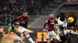 L'AC Milan chute malgré Zlatan. GOAL