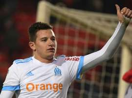 Thauvin was heavily involved in the 3-0 win over Rennes. AFP