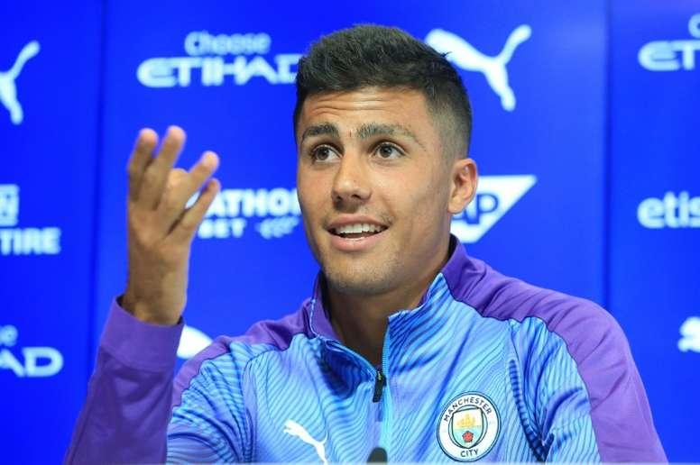 Rodrigo habló sobre la vuelta al Wanda. AFP
