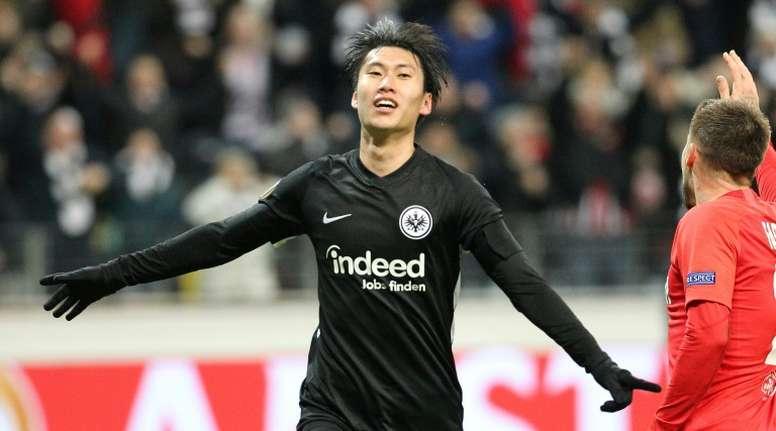 He scored a hat-trick. AFP