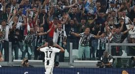 Mandzukic sblocca la partita a San Siro. AFP