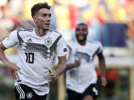 ermany forward Luca Waldschmidt has scored seven goals in four matches at the Euro U21. AFP