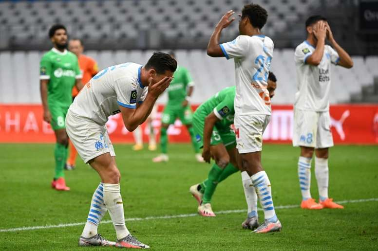 Saint-Etienne end 41-year wait with away win at depleted Marseille. AFP