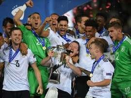 Alemania fue superior a España durante todo el encuentro. EFE