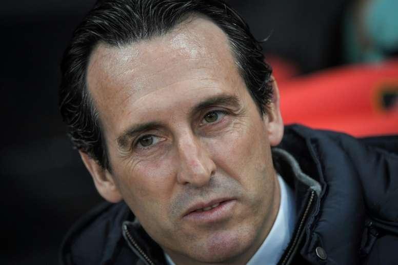 Emery le pidió consejo a Javi Gracia. AFP