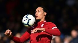 Van Dijk acredita que o Liverpool tem de melhorar no Dragão. AFP