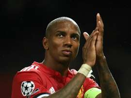 Young has worn the captain's armband since coming in for Antonio Valencia. AFP