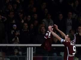 Belotti continuera l'aventure au Torino. AFP