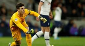 Lampard achacó su suplencia a la falta de forma. AFP
